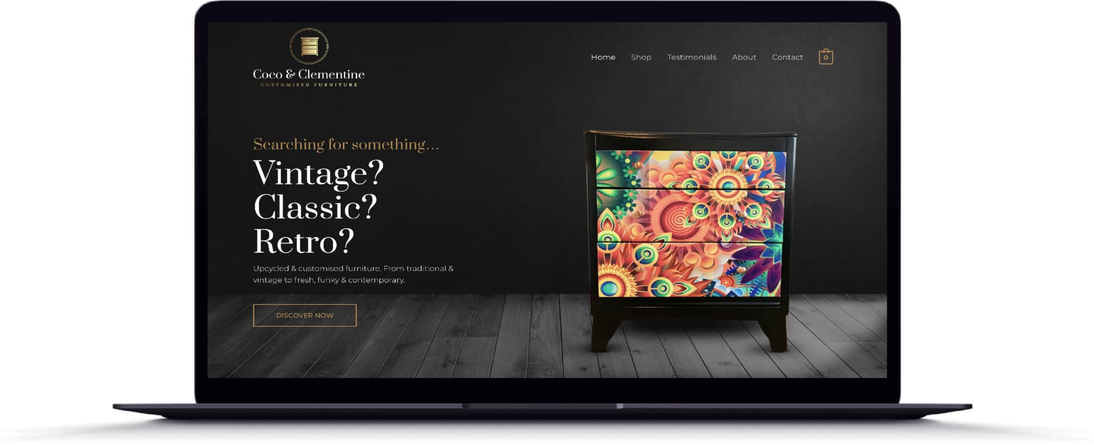 Coco & Clementine, Northwich, UK Website Design