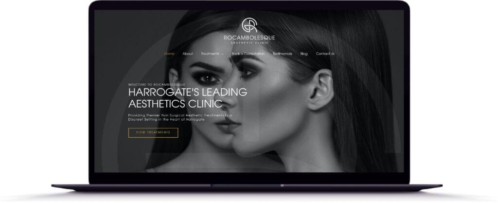 Rocambolesque, Harrogate, UK Website Design