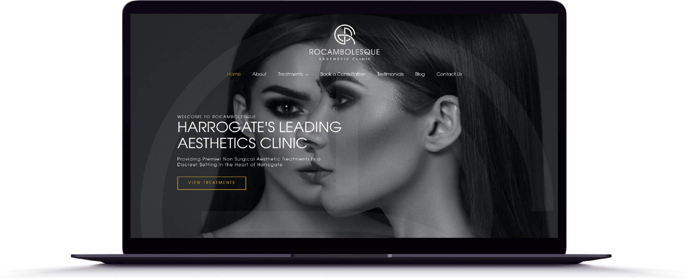 Rocambolesque, Harrogate, UK Website Design