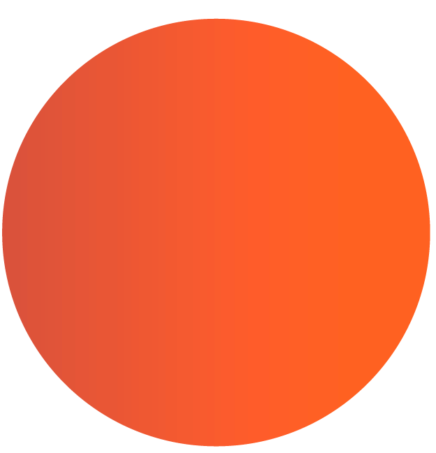 Atomic Orange Header Circle
