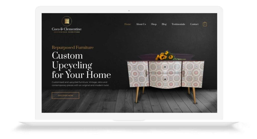 Coco & Clementine Designed from Web Development Company In Cheshire and Hampshire