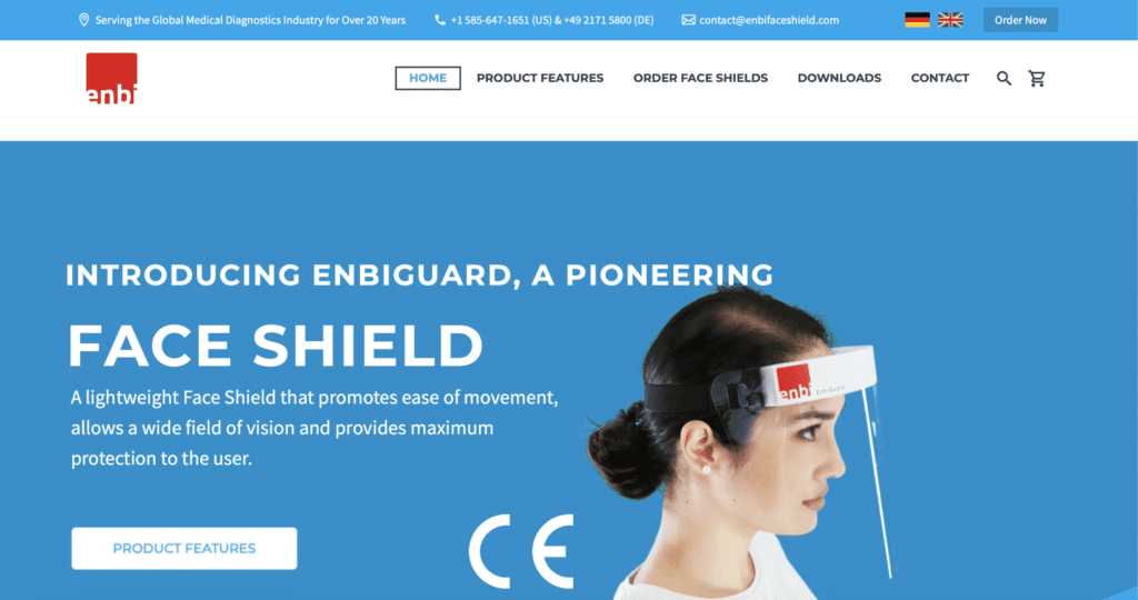 Enbiguard Website