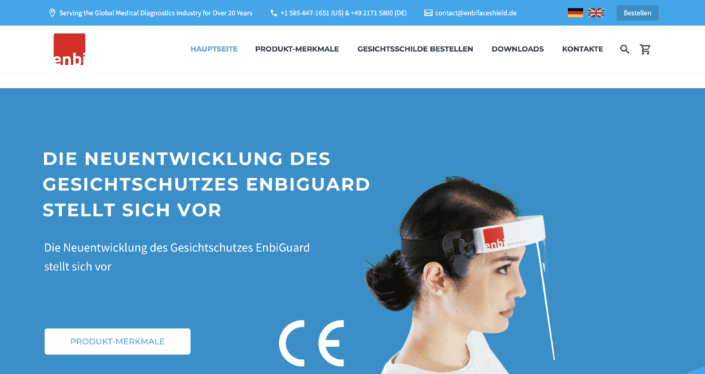 German EnbiGuard Website